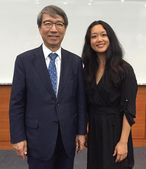 Met with Chung Un-chang