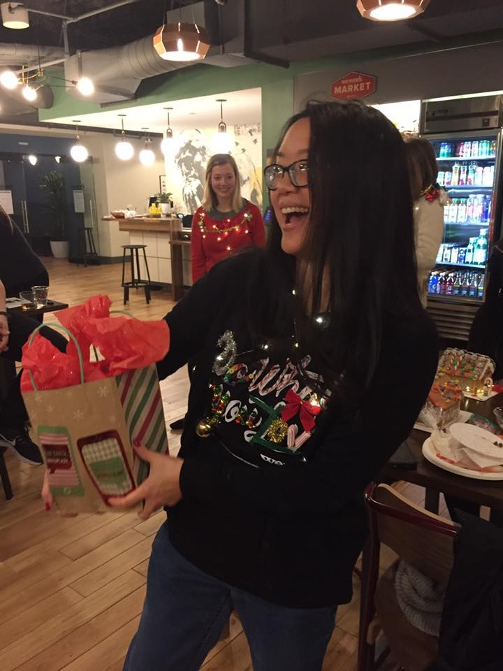 Ugly Sweater Competition Winner